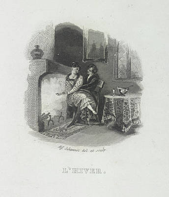 Edition Photograph - L'hiver by British Library