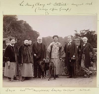 Aristocrat Photograph - Li Hung Chang At Hatfield by British Library