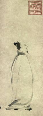 Po-po Painting - Li Po (701-762) by Granger