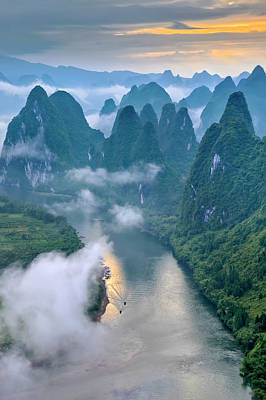 Photograph - Li River by Hua Zhu