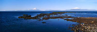 Snow-covered Landscape Photograph - Lianquihue Lake Osorno Chile by Panoramic Images