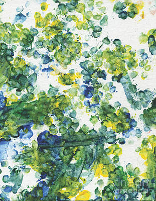 Dog Artist Painting - Lians Dandelions by Antony Galbraith