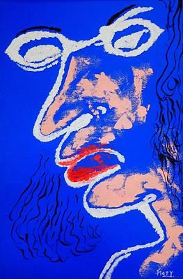 Liar Art Print by Piety Dsilva