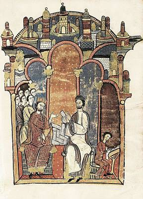 Liber Feudorum Maior. End 12th C. Royal Art Print