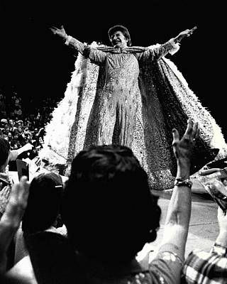 Valentino Photograph - Liberace by Retro Images Archive