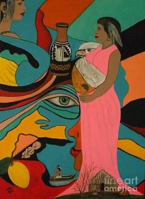 Painting - Liberacion by Iris  Mora