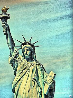 Photograph - Liberty by Andy Heavens
