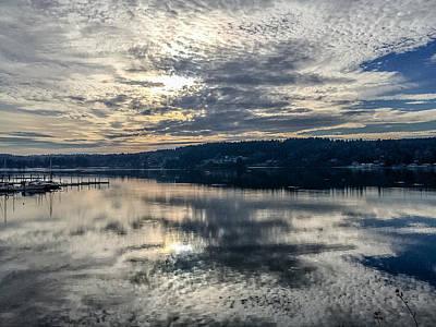 Photograph - Liberty Bay 3 by Ronda Broatch