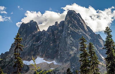 Photograph - Liberty Bell Mountain In North Cascades National Park by Pierre Leclerc Photography