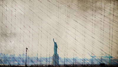 Photograph - Liberty Between The Lines by Emily Stauring