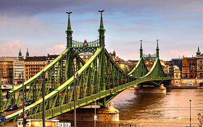 Photograph - Liberty Bridge Budapest by David French