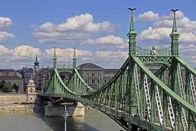 Photograph - Liberty Bridge Budapest  by Tony Murtagh