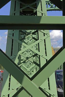 Photograph - Liberty Bridge Up Close by Tony Murtagh
