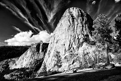Yosemite California Photograph - Liberty Cap by Cat Connor