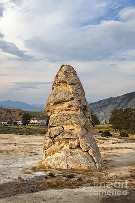 Keith Richards - Liberty Cap in Yellowstone by Bryan Mullennix