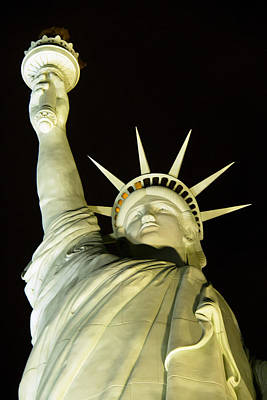 Statue Of Liberty Replica Photograph - Liberty by Debby Richards