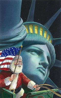 Liberty Painting - Liberty by Denny Bond