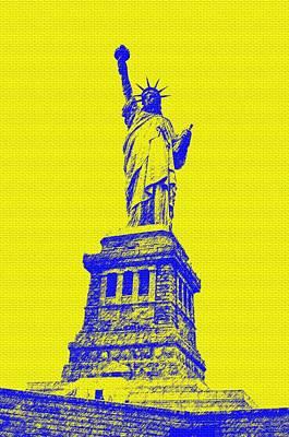 Eliso Digital Art - Liberty by Eliso Ignacio Silva Simancas