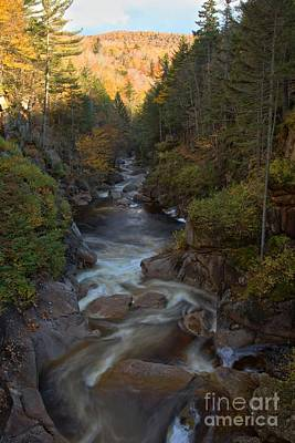 Photograph - Liberty Gorge At Franconia Notch by Adam Jewell
