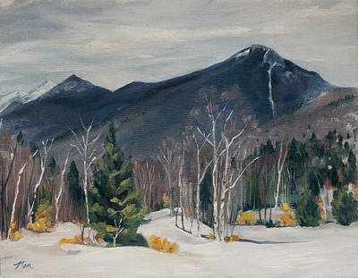 Painting - Liberty In Franconia Range by Nancy Griswold