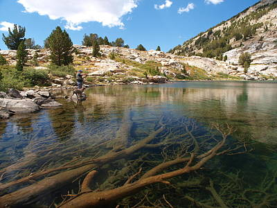 Photograph - Fly Fishing Liberty Lake by Jenessa Rahn
