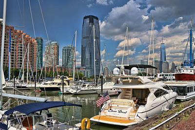 Photograph - Liberty Landing Marina - Jersey City by Allen Beatty