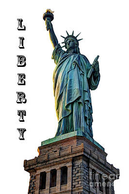 Photograph - Liberty Light by Steve Purnell