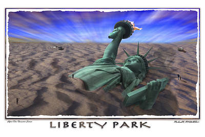Roaming Photograph - Liberty Park by Mike McGlothlen