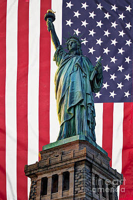 Photograph - Liberty Patriot by Steve Purnell