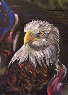 Pastel - American Pride by Peter Suhocke