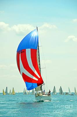 Photograph - Liberty Sailboat by Randy J Heath