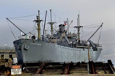 Photograph - Liberty Ship Museum by Caroline Stella