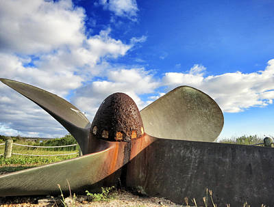 Photograph - Liberty Ship Propeller - Dionysus by Patricia Januszkiewicz