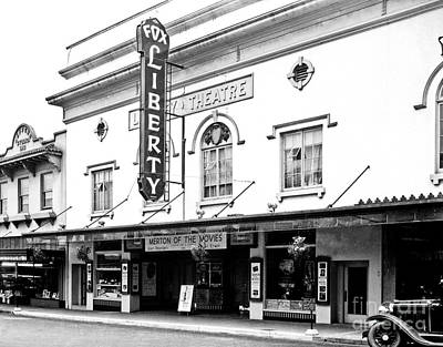 Photograph - Liberty Theater by Vibert Jeffers