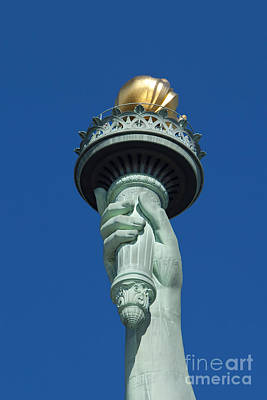 Photograph - Liberty Torch by Brian Jannsen
