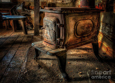 Photograph - Liberty Wood Stove by Lois Bryan