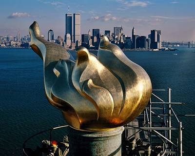 Wtc 11 Photograph - Liberty's Flame by Benjamin Yeager