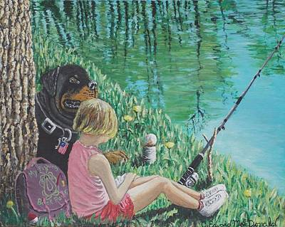 Painting - Liberty's Watchdog by Carey MacDonald