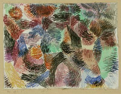Libido Of The Forest Art Print by Paul Klee