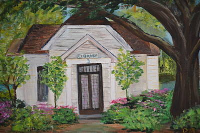 Painting - Library by Debbie Baker