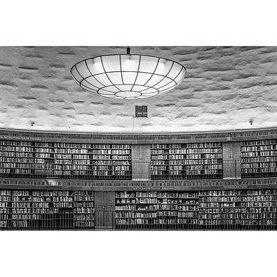 Design Wall Art - Photograph - Library by Karim Taib