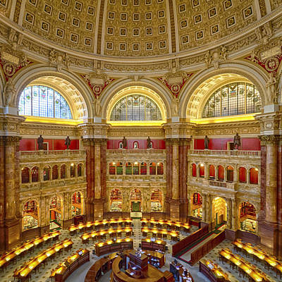 Photograph - Library Of Congress by Chris Reed