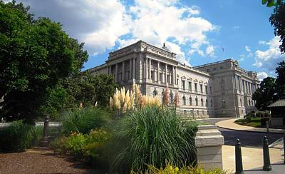 Library Digital Art - Library Of Congress Corner View by Gary Conner