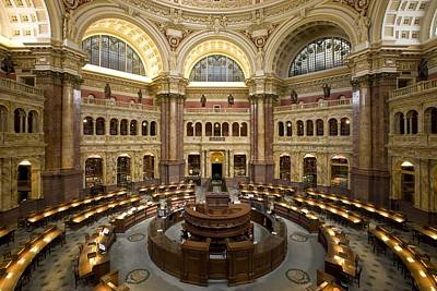 Library Of Congress Art Print by Mountain Dreams