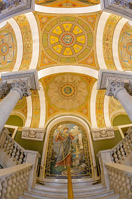 Photograph - Library Of Congress by Susan Candelario