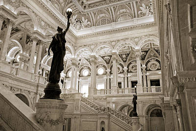 Stocktrek Images - Library of Congress VI by Kenneth Ortiz