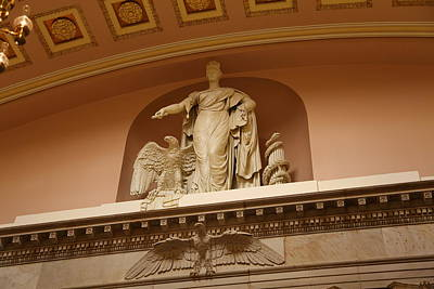 Library Of Congress - Washington Dc - 01132 Art Print by DC Photographer