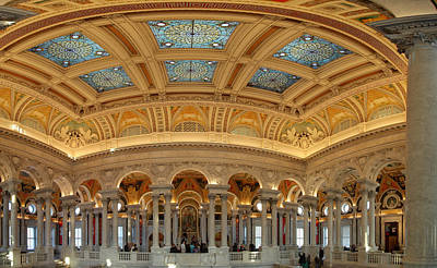 Library Of Congress - Washington Dc - 011322 Art Print by DC Photographer