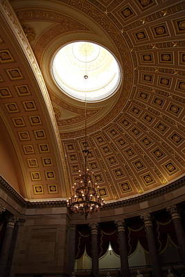 Library Of Congress - Washington Dc - 01133 Print by DC Photographer