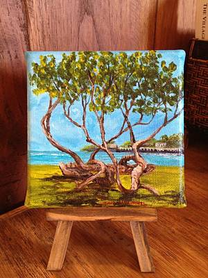 Painting - Library Park Lahaina by Darice Machel McGuire